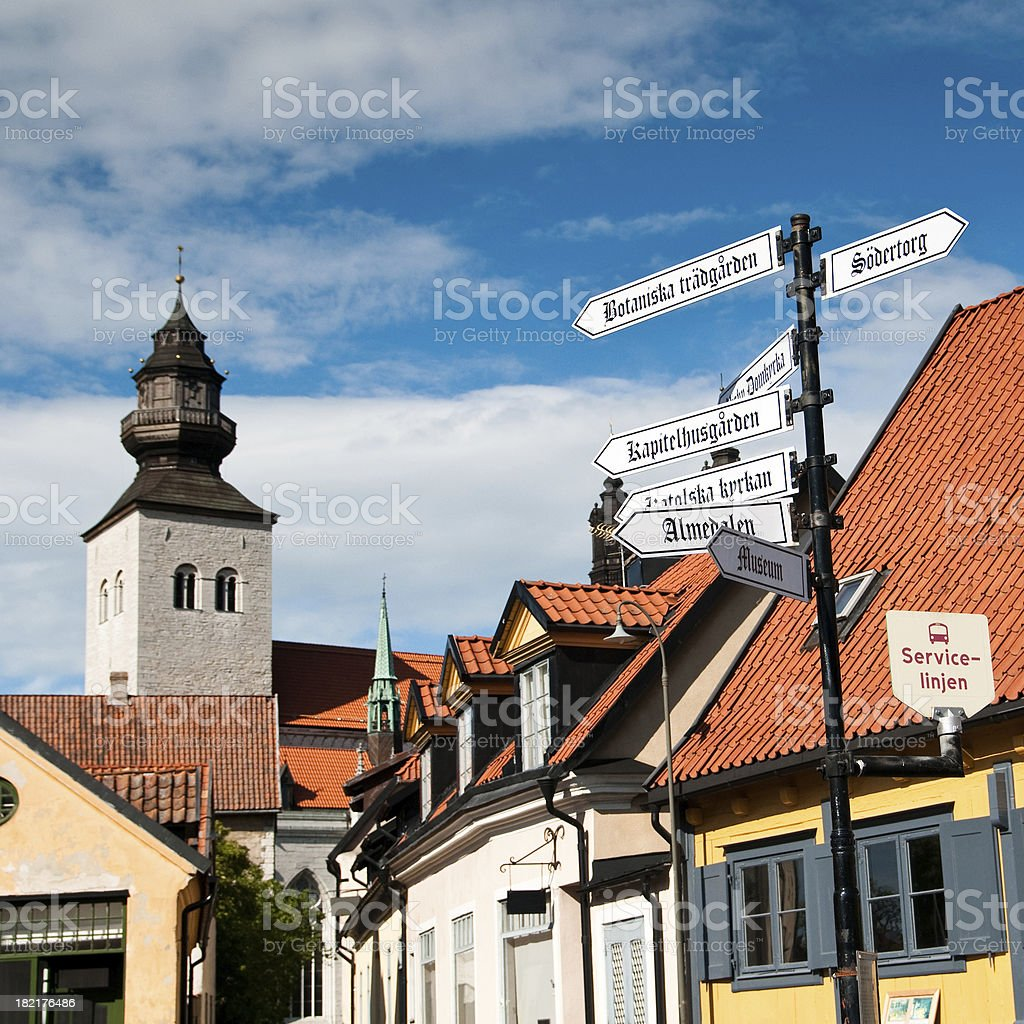 Visby royalty-free stock photo
