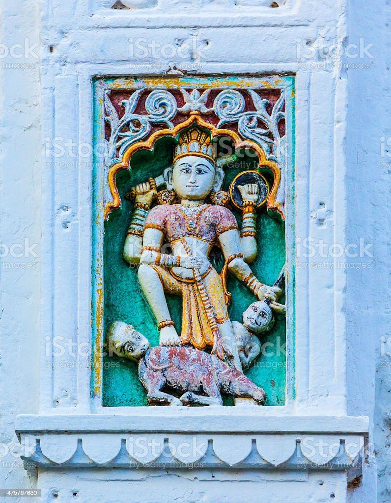 Vishnu god stock photo
