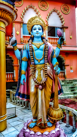 Vishnu is one of the most important gods in the Hindu pantheon and, along with Brahma and Shiva, is considered a member of the holy trinity (trimurti) of Hinduism. He is the most important god of Vaishnaism, the largest Hindu sect.