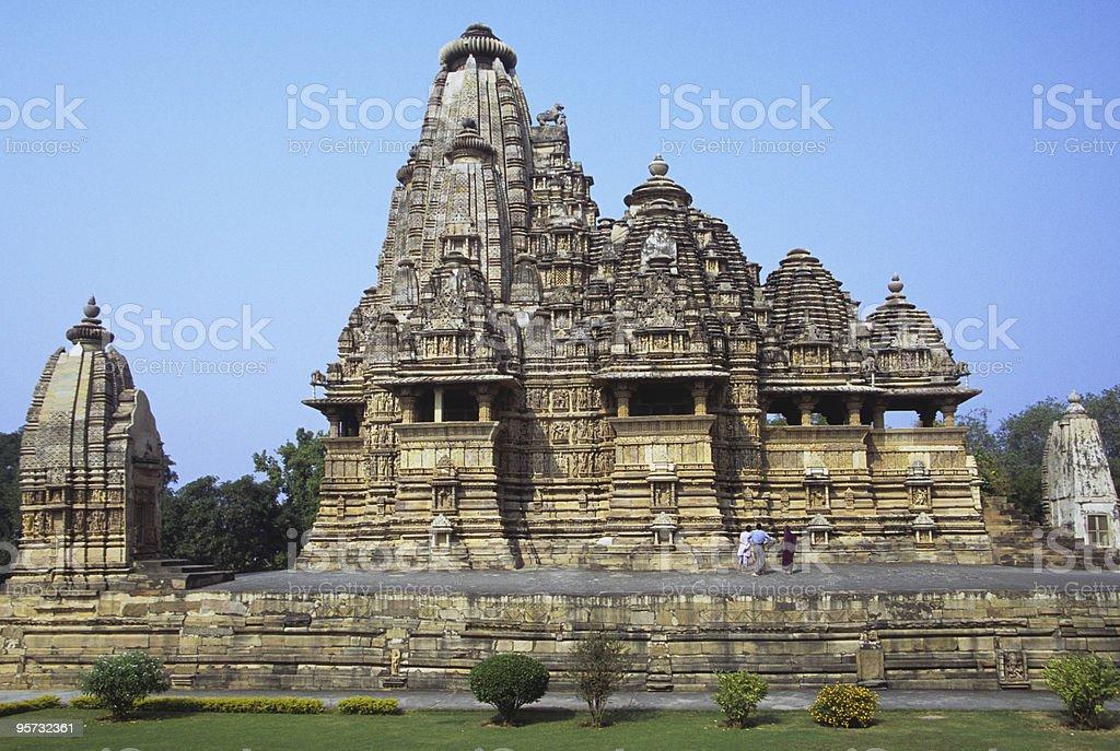 Vishvanath Temple, Khajuraho, India royalty-free stock photo