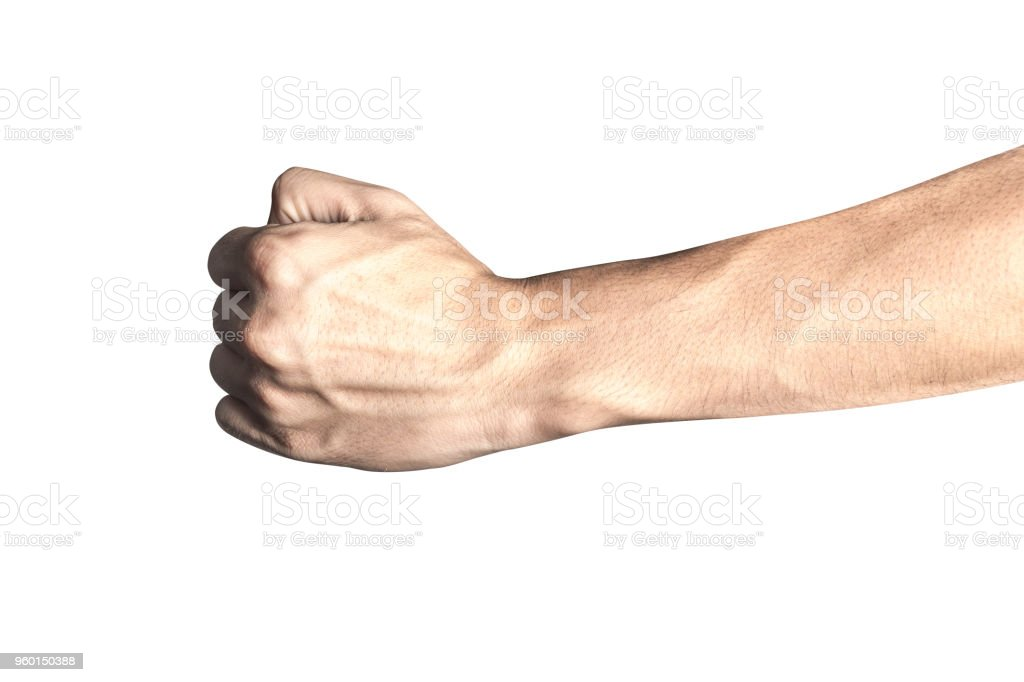 Culturismo venas brazos en el abultadas de