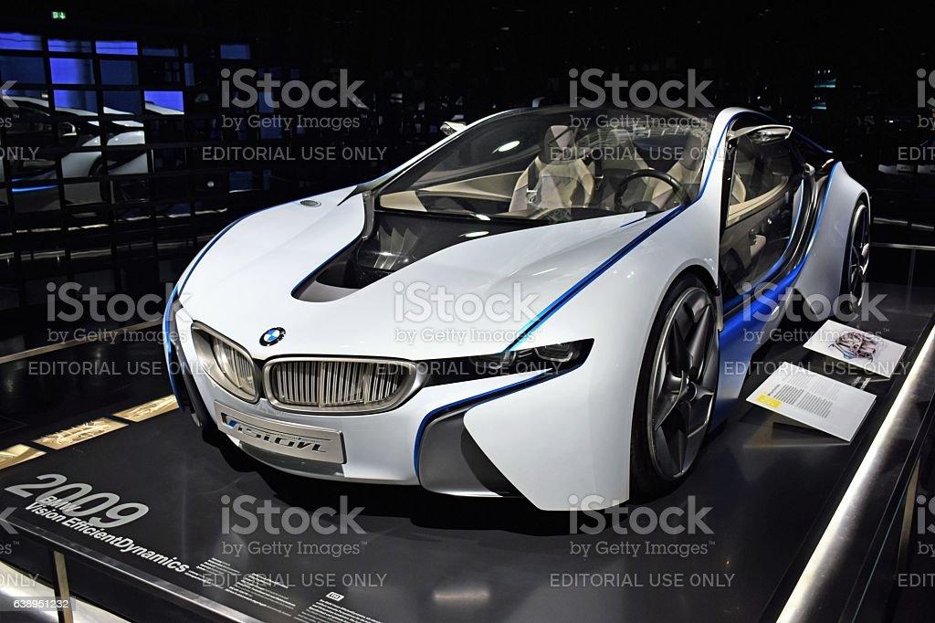 BMW Vision EfficientDynamics - concept car - foto de stock
