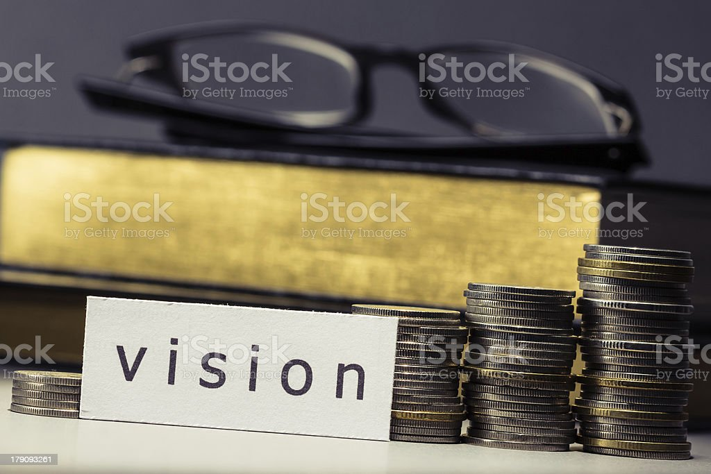 Vision in business royalty-free stock photo