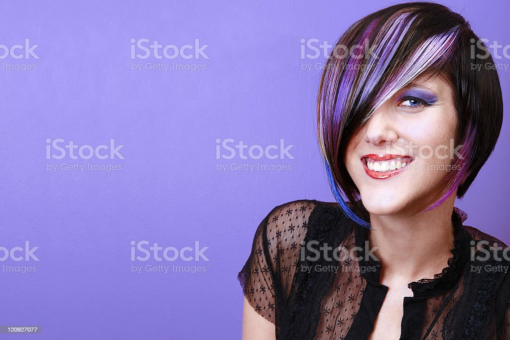 Vision In Violet royalty-free stock photo