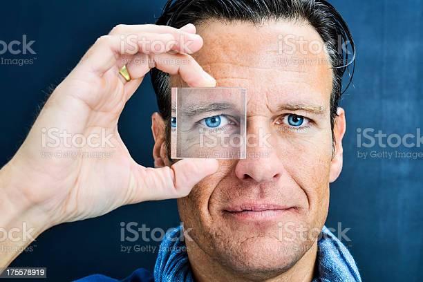 Vision man looking through lens picture id175578919?b=1&k=6&m=175578919&s=612x612&h=dtpukgcvfllsowmd5lymlomcs0y70622i0zkt4u8iq8=