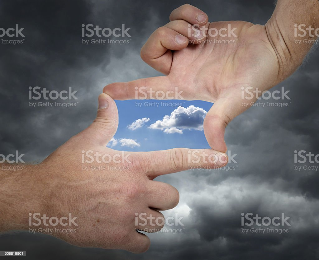 vision of change stock photo