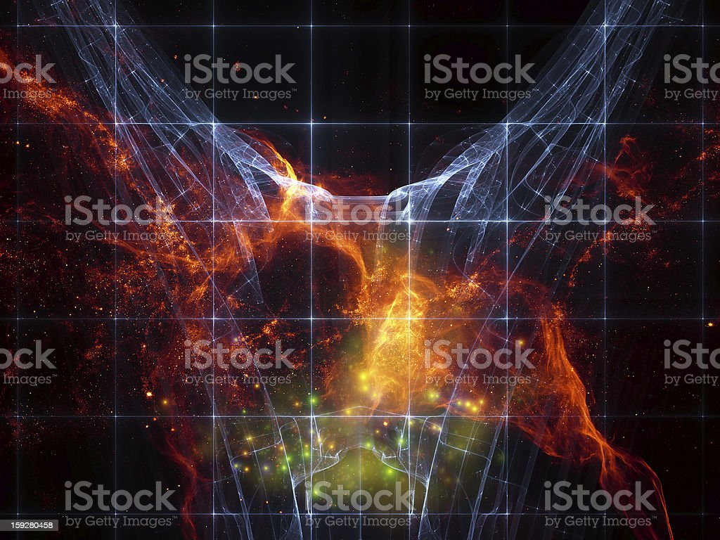 Vision of Cosmos royalty-free stock photo