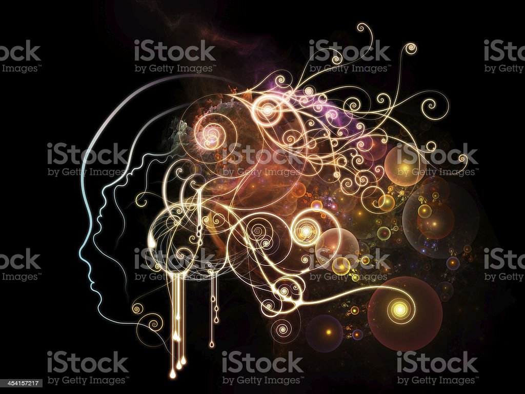 Vision of Inner Thoughts royalty-free stock photo