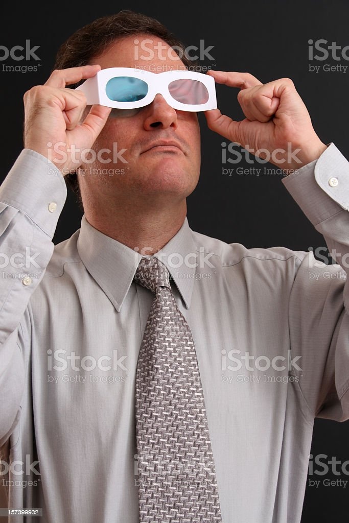 3D Vision royalty-free stock photo