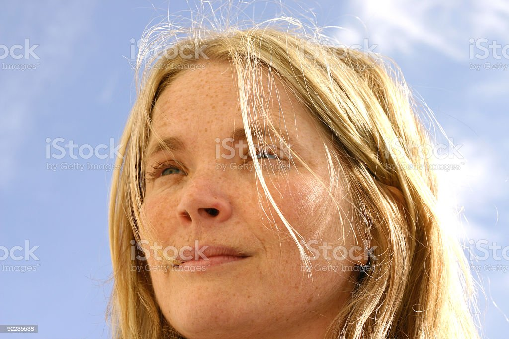 Visionary Girl royalty-free stock photo