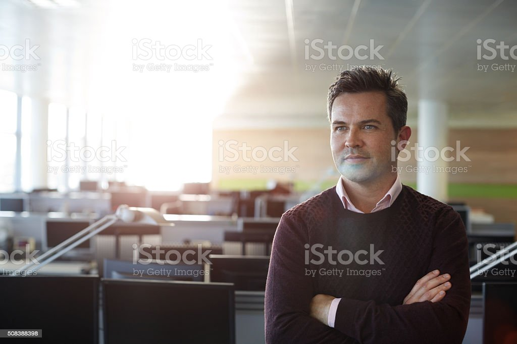 Visions of the future stock photo
