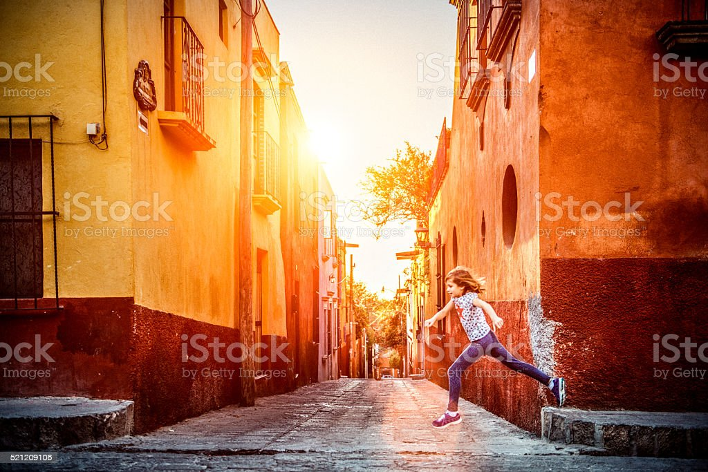 Visit Mexico with Children stock photo