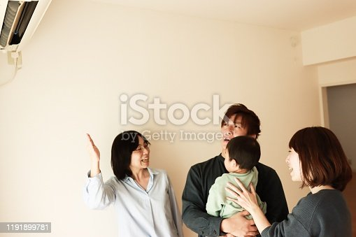 952643774 istock photo Visit to New house with real estate agent 1191899781