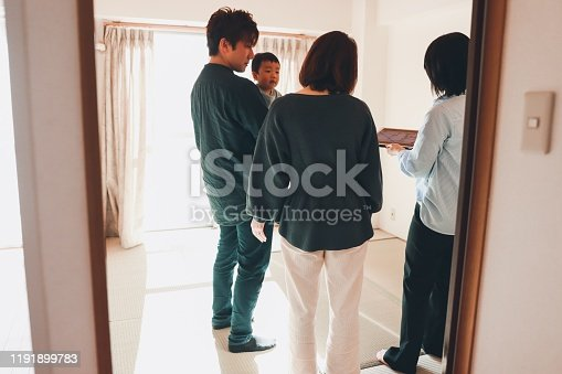 952643774 istock photo Visit to New house with real estate agent 1191899783