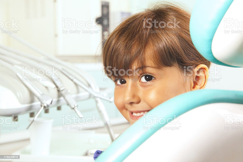 Visit to the dentist royalty-free stock photo