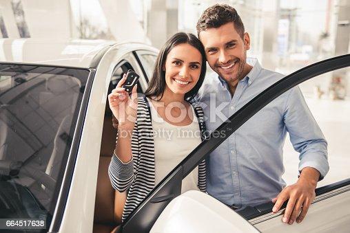 664521270 istock photo Visiting car dealership 664517638