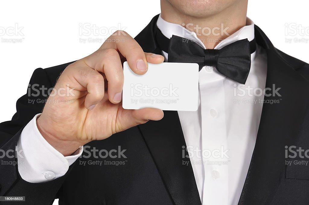 visiting card royalty-free stock photo
