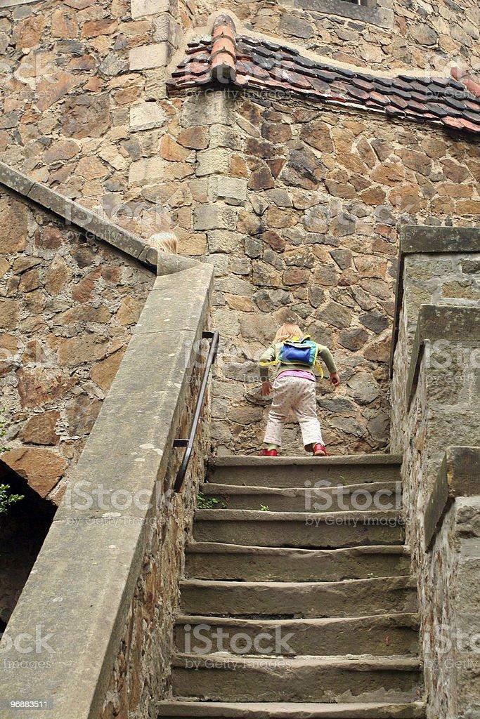 Besuchen Sie das castle Lizenzfreies stock-foto