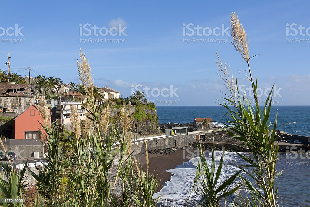 Visiting Madeira: Northern Coast Region stock photo