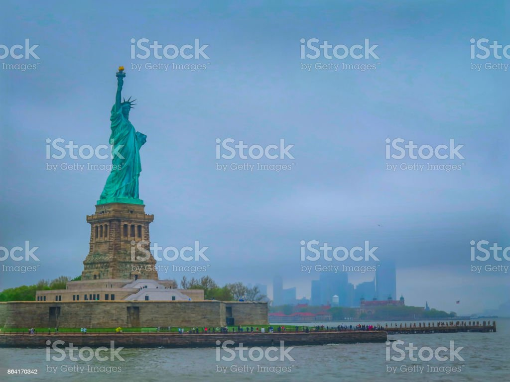 Visiting New-York on the east coast of USA royalty-free stock photo