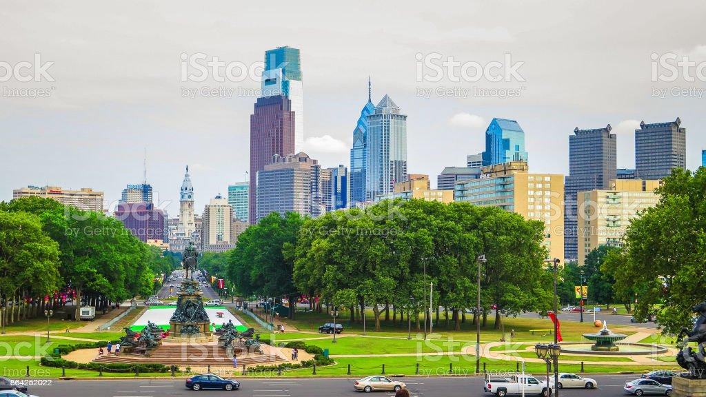 Visiting Philadelphia on the east coast of USA royalty-free stock photo