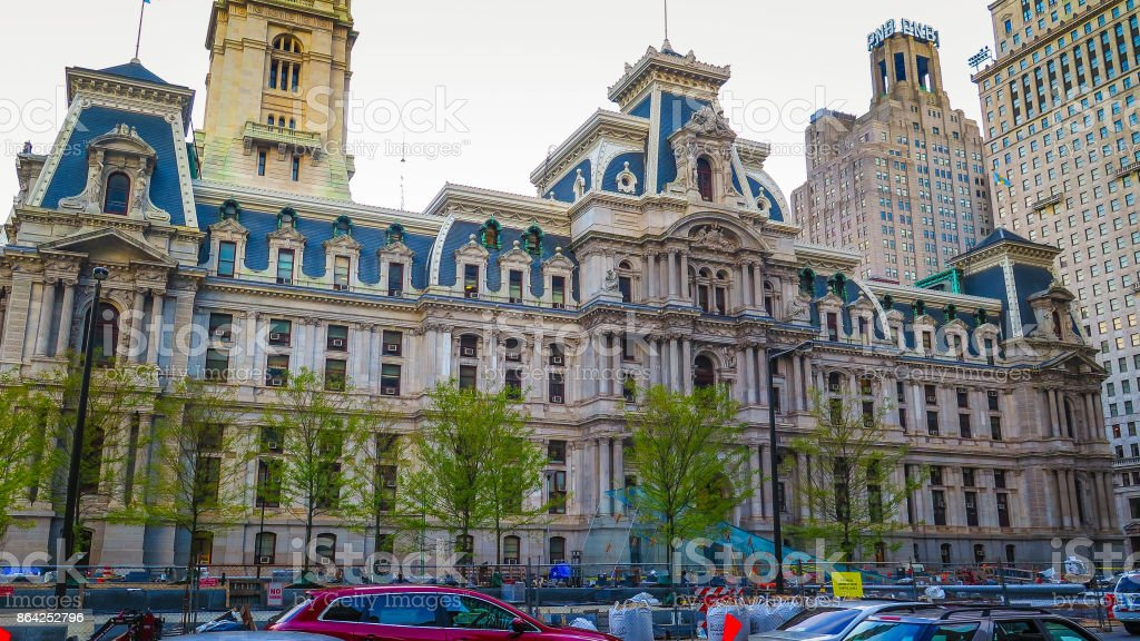 Visiting Philadelphia on the east coast of USA royalty-free stock photo
