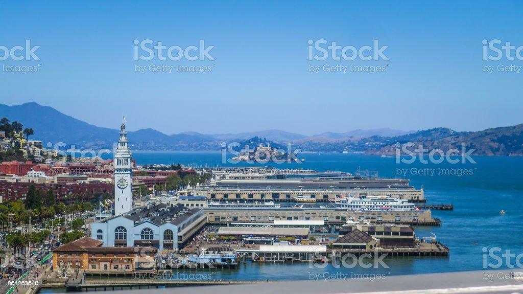Visiting San Francisco in California royalty-free stock photo