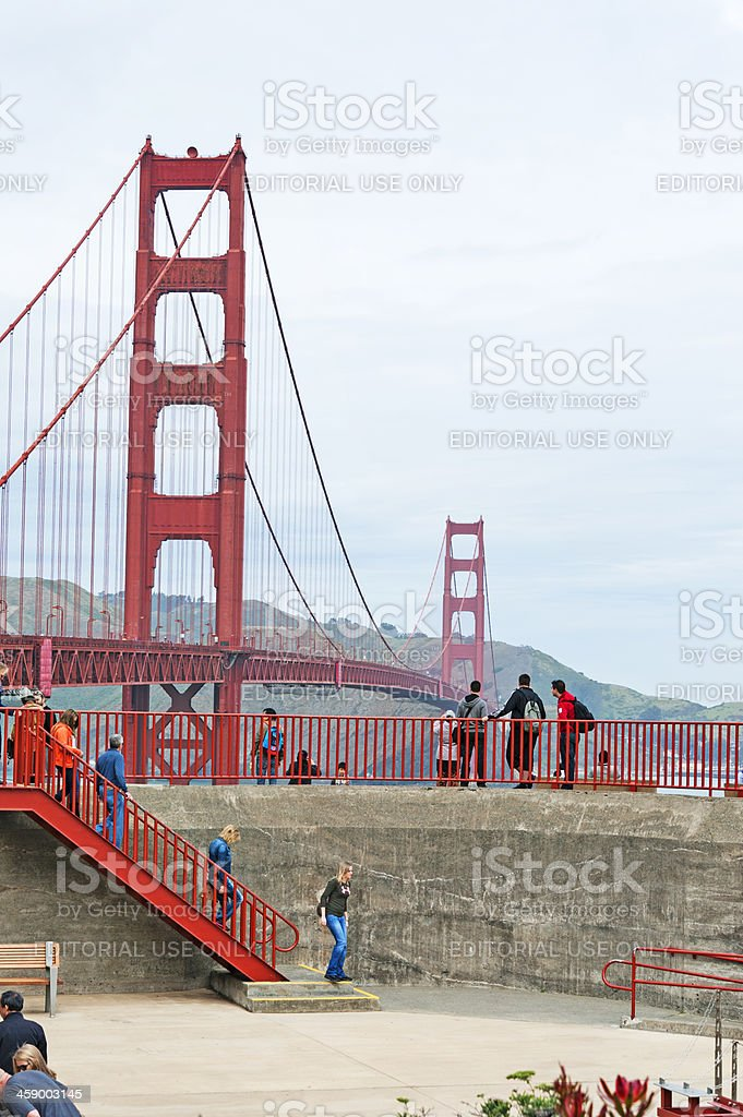 Visiting the Gate royalty-free stock photo