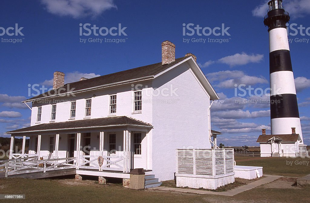 Visitor Center Cape Hatteras Lighthouse Buxton North Carolina stock photo