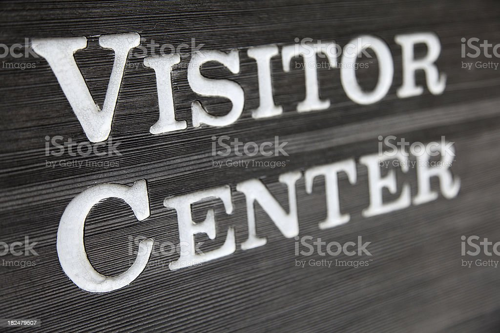 Visitor Center royalty-free stock photo
