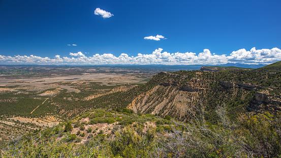 Vista Scenic View from Mesa Verde Colorado