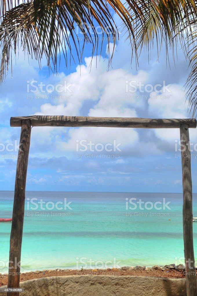 vistas al mar stock photo