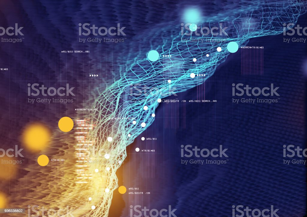 Visual Data and Information stock photo