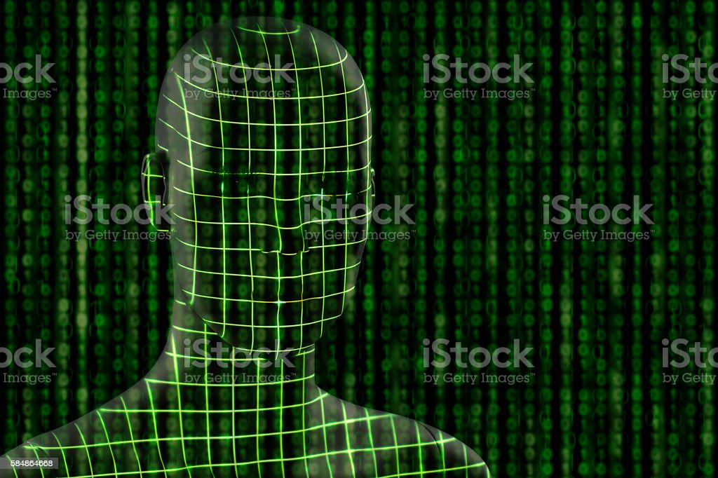 visualization concept for technologyvisualization concept for technology stock photo