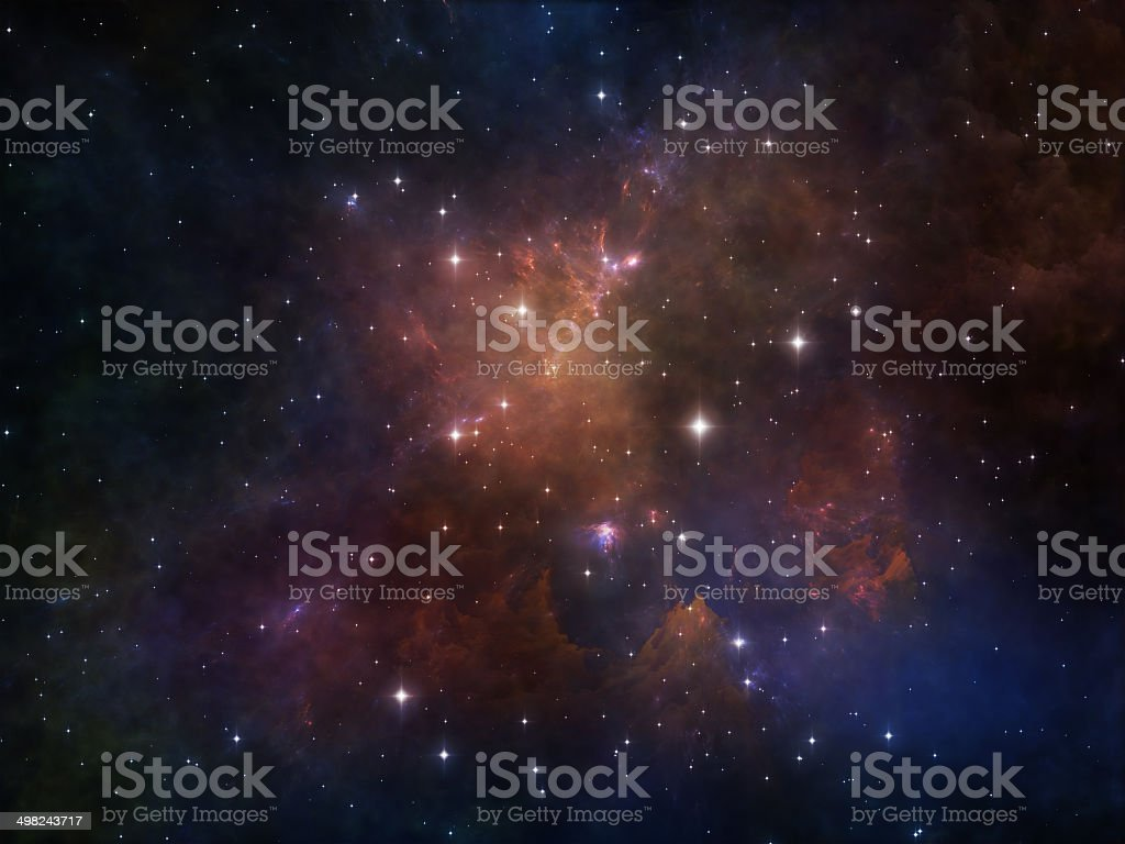 Visualization of Space royalty-free stock photo