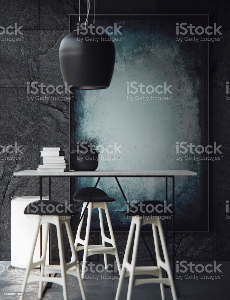 visualização do interior, com vista panorâmica - foto de acervo