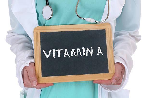 vitamina a vitaminas comida saludable estilo de vida médico de la salud - vitamina a fotografías e imágenes de stock