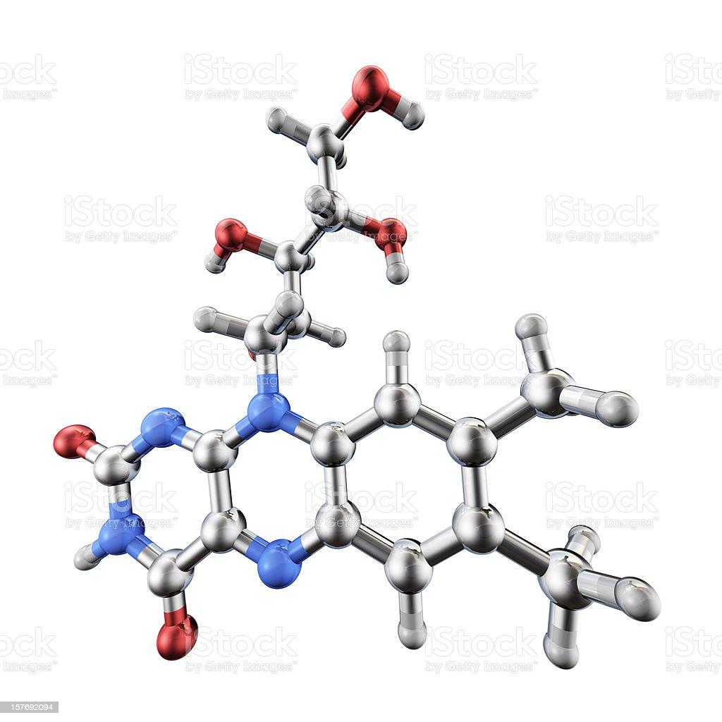 Vitamin B Model royalty-free stock photo