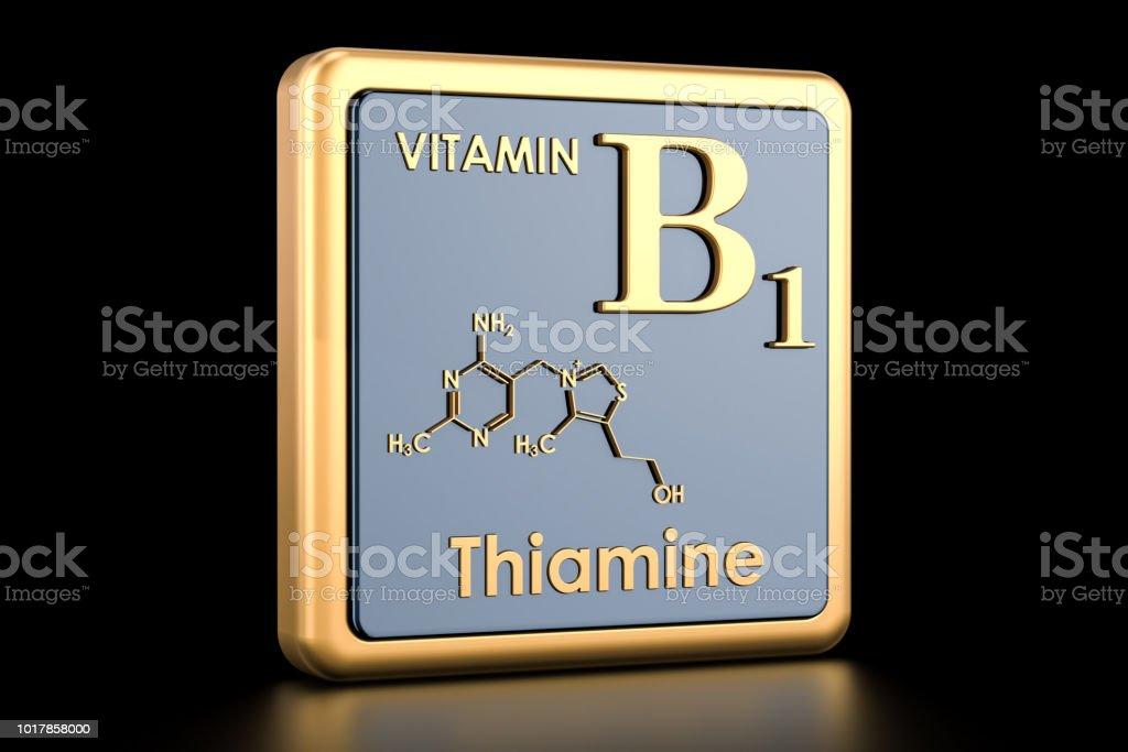 Vitamina B1 Tiamina Icono Estructura Molecular Fórmula Química Render 3d Foto De Stock Y Más Banco De Imágenes De Asistencia Sanitaria Y Medicina