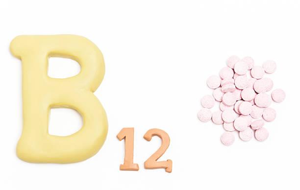 Vitamin B12 stock photo