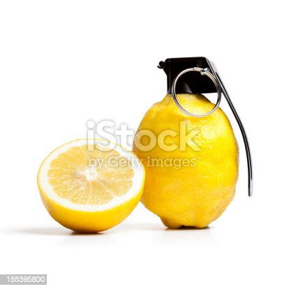 vitamin bomb lemon grenade fruit stock photo more pictures of bizarre istock. Black Bedroom Furniture Sets. Home Design Ideas