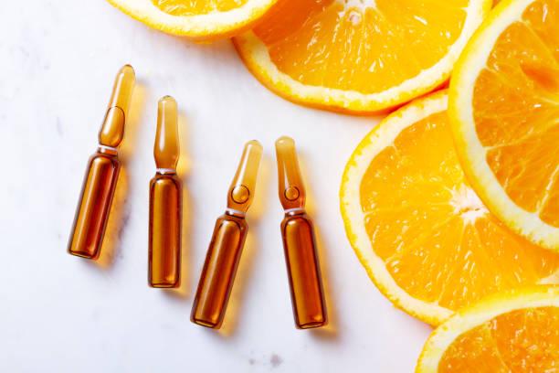 conceito de vitamina c - c - fotografias e filmes do acervo