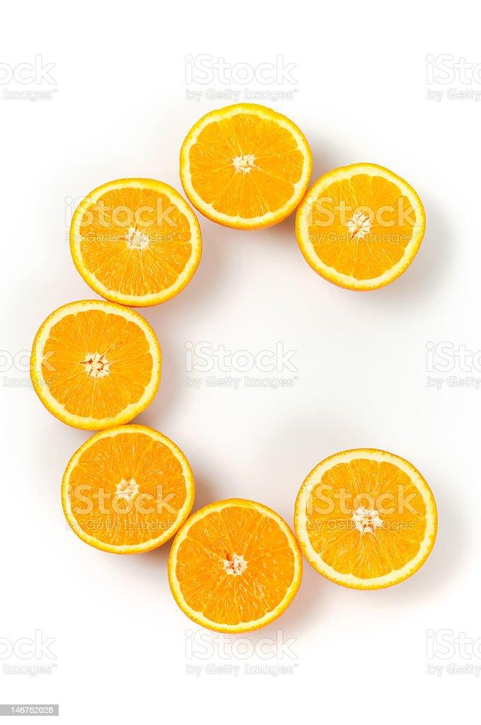 Vitamina C - foto de stock