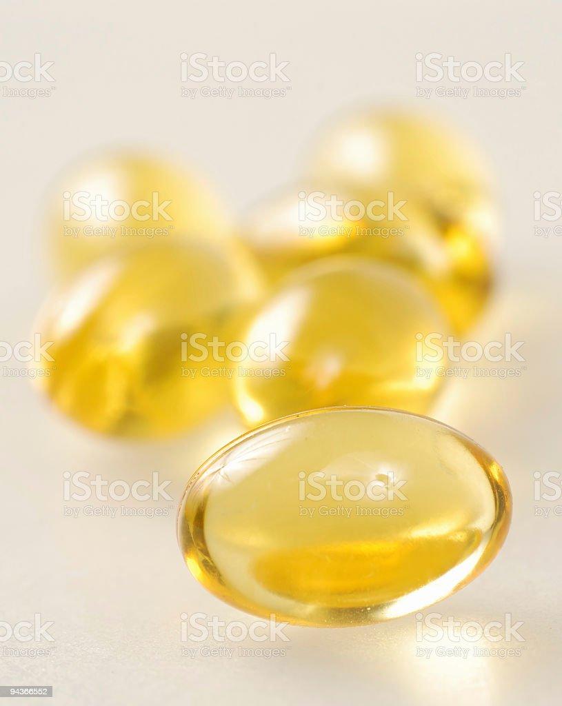 Vitamin Capsules royalty-free stock photo