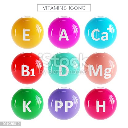 Food, Fruit, Pharmacy,Vitamin Comple Icons