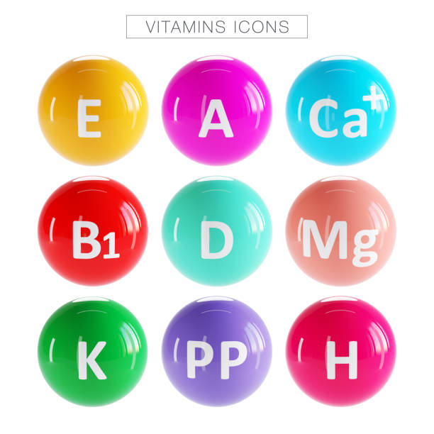 Vitamin Complex Icons Food, Fruit, Pharmacy,Vitamin Comple Icons k icon stock pictures, royalty-free photos & images
