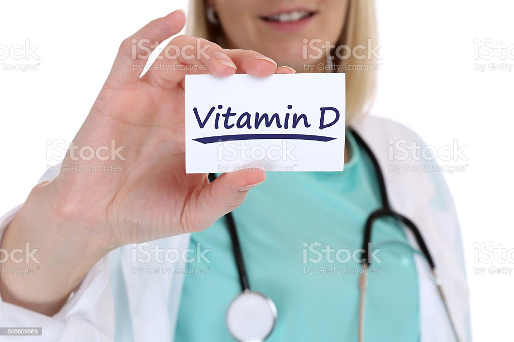Vitamin D vitamins healthy eating lifestyle doctor nurse health stock photo