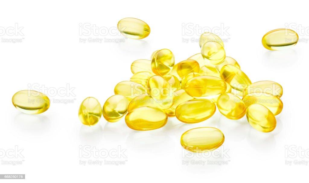 Vitamin e capsules foto stock royalty-free