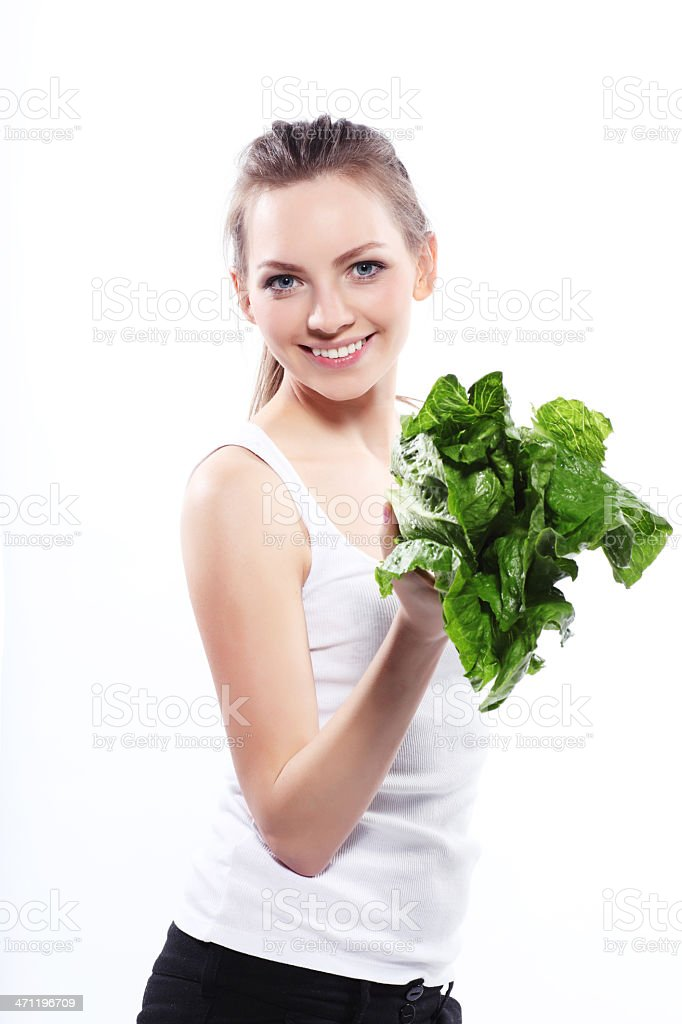 Vitamin Girl! royalty-free stock photo