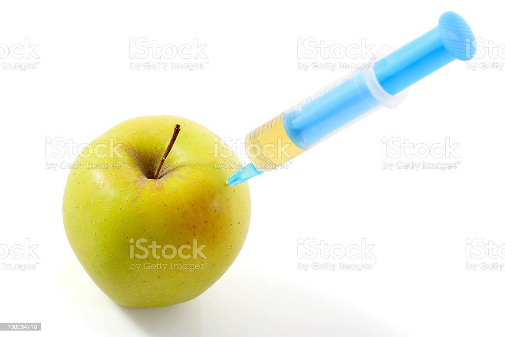 Vitamin Injection stock photo